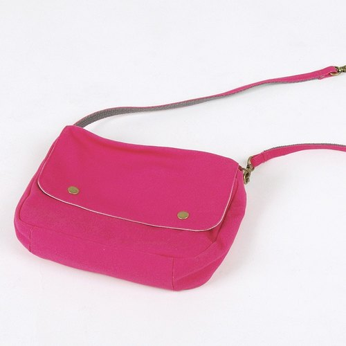 Multi-functional carry small bag / pink
