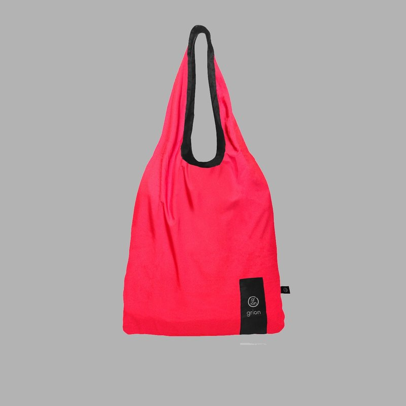 grion waterproof bag - Shoulder dorsal paragraph (L) raspberry color