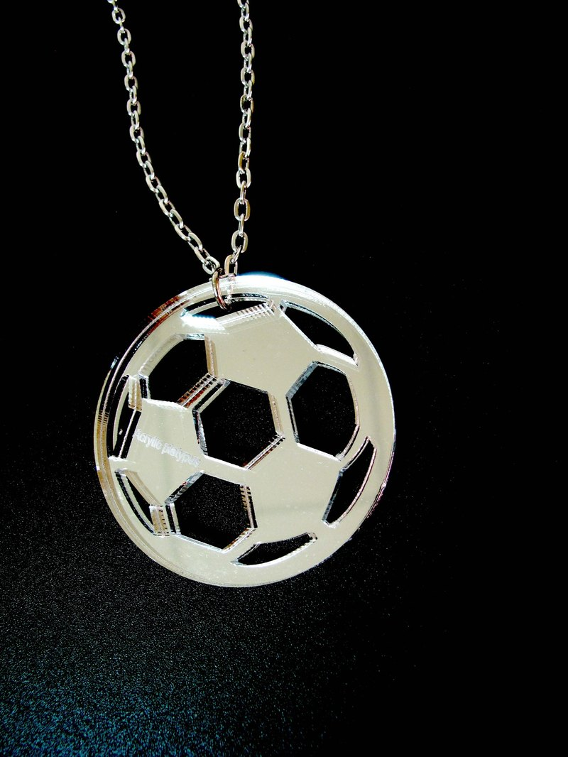 Lectra Duck football soul ▲ ▲ necklace / keychain / dual-use \ threw a postcard dogs and cats