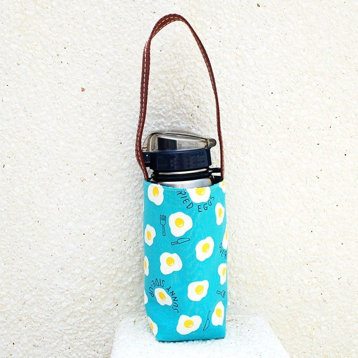 Delicious poached kettle bag_blue/drink bag