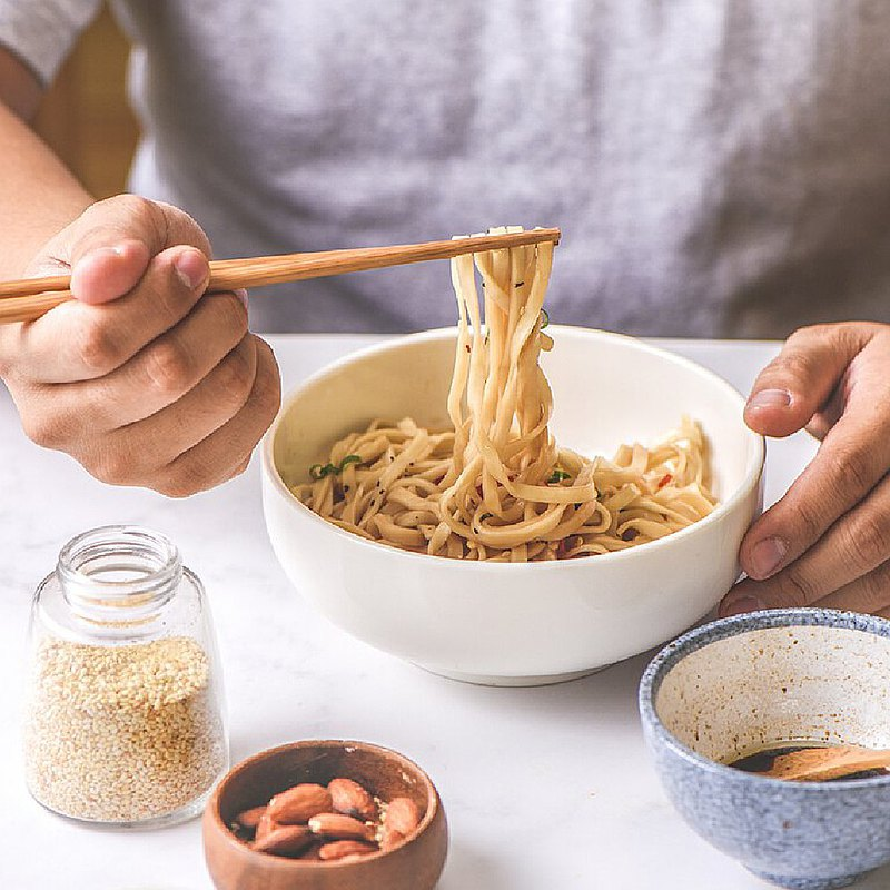 【森林麵食】日曬太陽乾麵X古味麻油(4包)