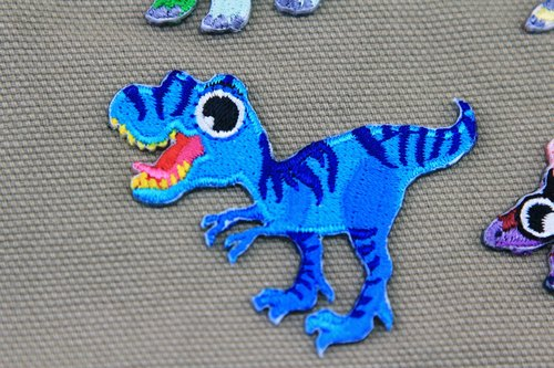 Tyrannosaurus sticking embroidered cloth stickers - Dinosaurs Resurrection Series