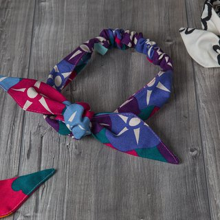 lust_multi-way french style headband