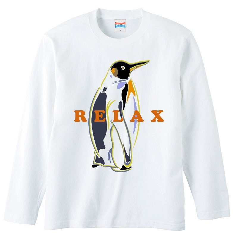 [Long sleeve T-shirt] RELAX
