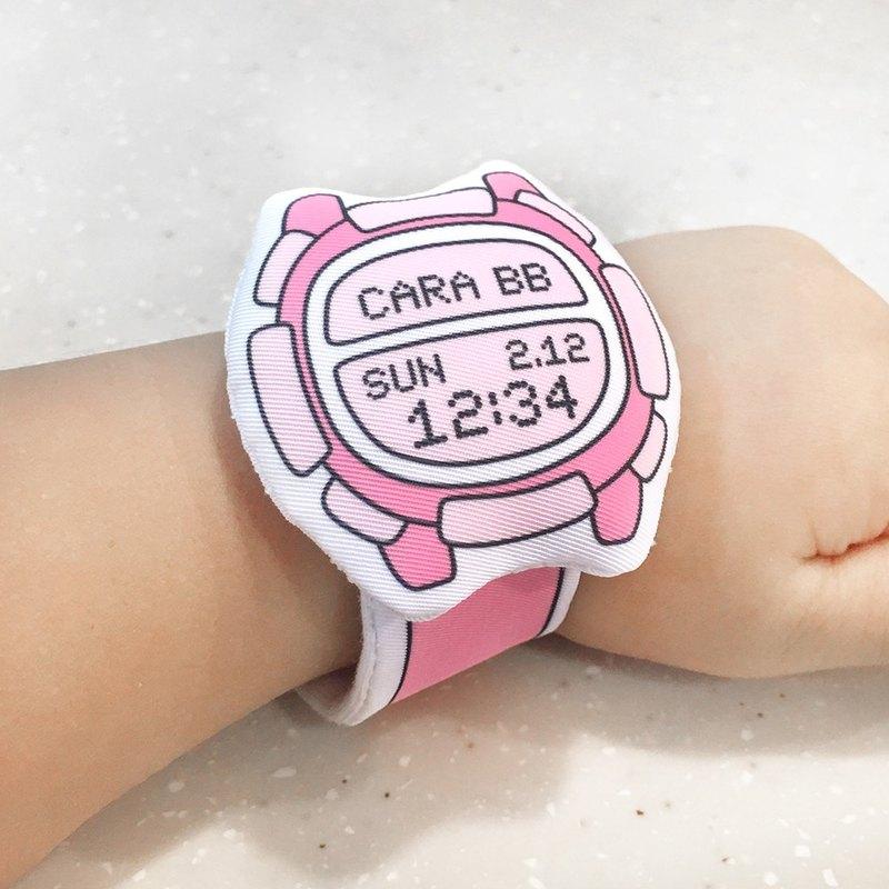 我的第一隻布手錶(客製化)My first Baby Watch (D03A07)