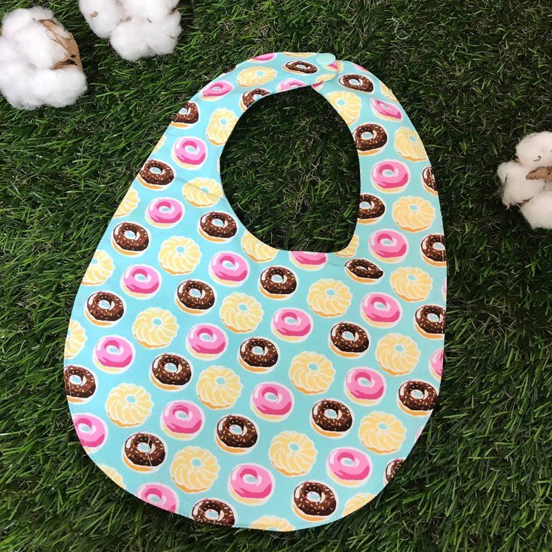 Double-sided bibs - donuts