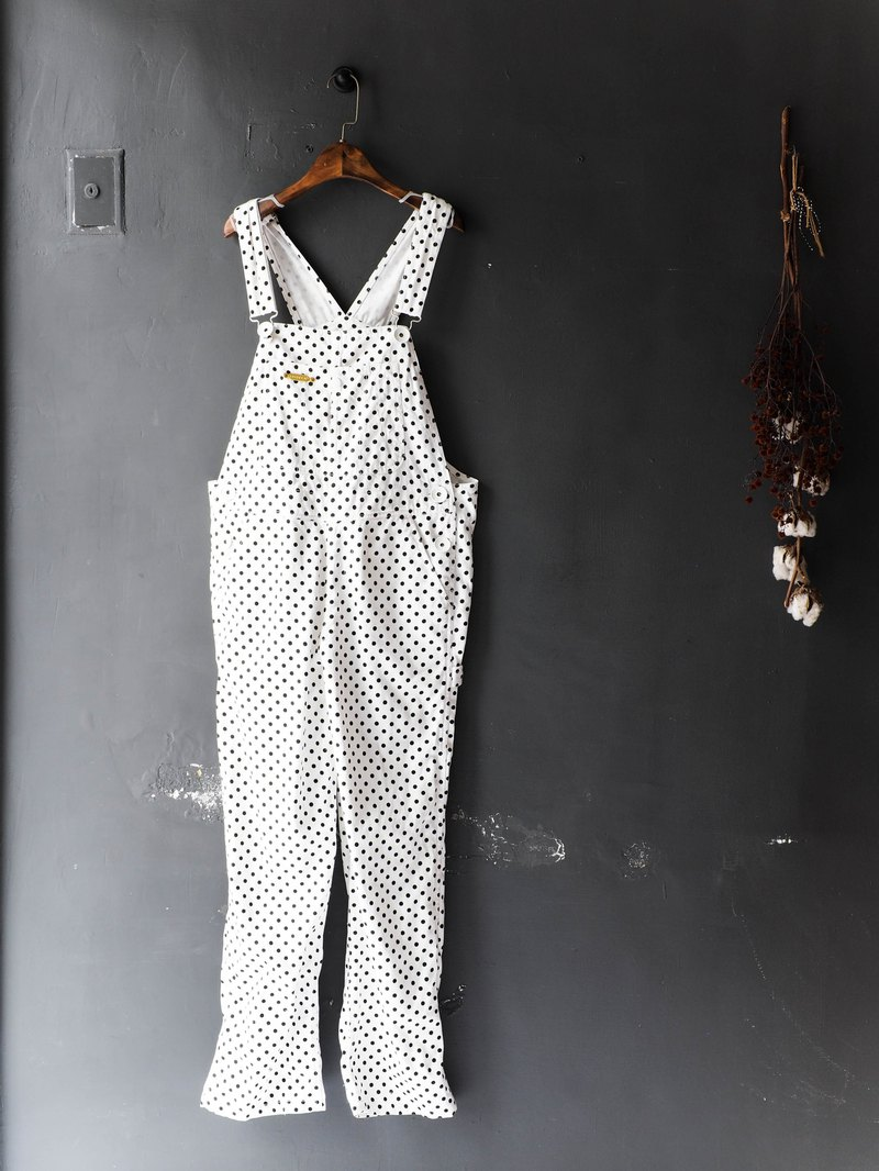 Kawasui Mountain - Osaka Yayoi Kurobe Youth Exhibition White Denim Sling Trousers Thin Pound Neutral Japanese overalls oversize vintage