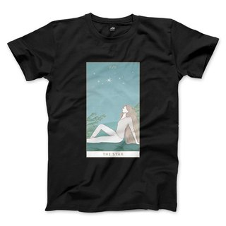 XVII | The Star - Black - Unisex T-Shirt