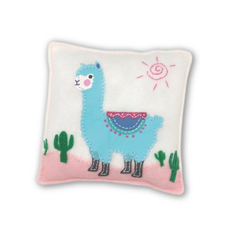 Fairy Land [Material Pack] Alpaca Pillow - Blue