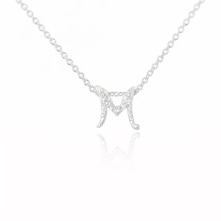 M. / Silver Necklace