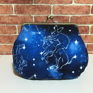 Stars encounter gold mouth bag / shoulder / side back / camera bag / cosmetic bag / sundries / large capacity