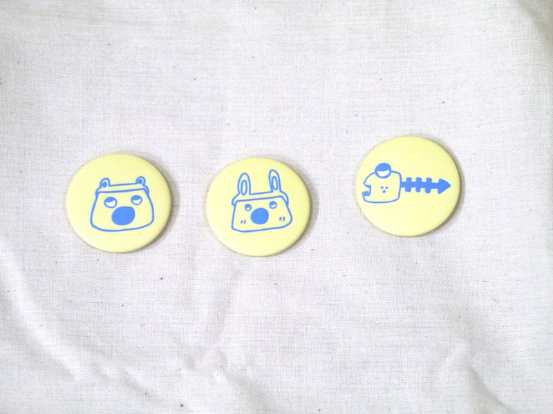 | Magnet badge | RS planet little character (three pick one)
