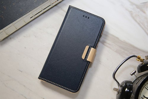 iPhone 7 / iPhone 8/ 4.7 inch Slipcase Series Leather Case - Navy