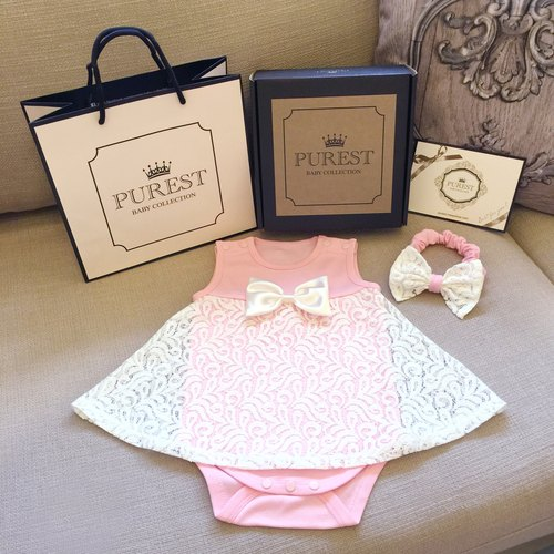 PUREST little princess's gorgeous dress / spring and summer gift box group / baby Mi Yue / birthday / gift preferred