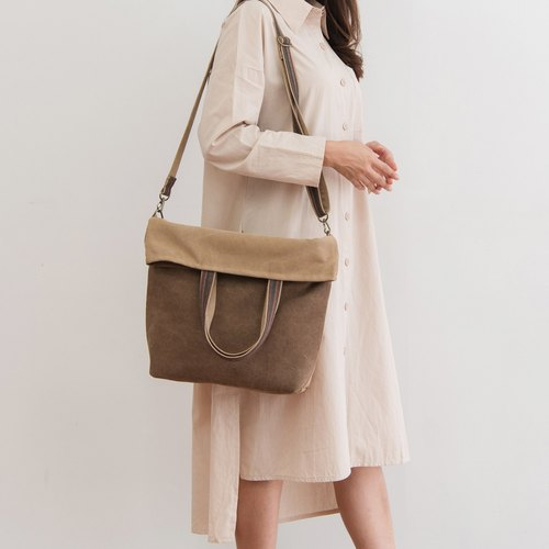 Beige Tote Bag Cross Bag Messenger Bags