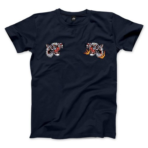 Tiger Fist - dark blue - Women's T-Shirt