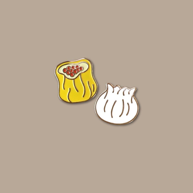 Dim Sum Pin (Set of 2)