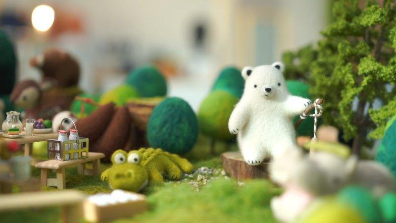 樂洋・好好玩羊毛氈材料包-釣魚白熊棉花糖
