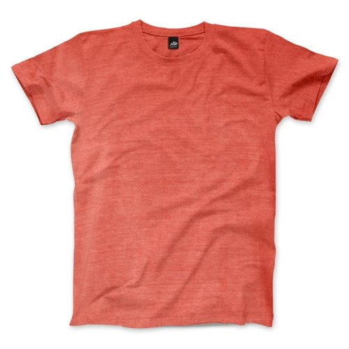 Plain American Village Short Sleeve T-Shirt - Salmon Red