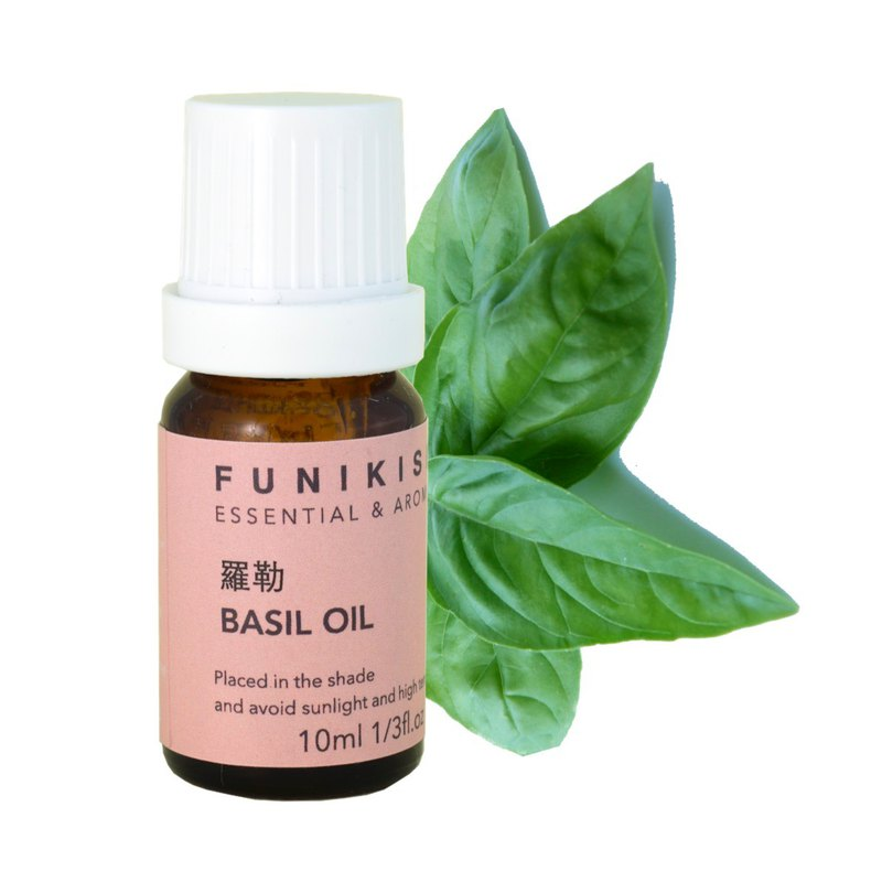 【Basil 100% Pure Essential oil】