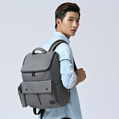 Backpack bag computer bag foldable light body water repellent Dreamer - gray