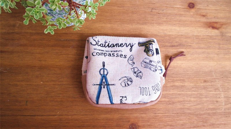 Handmade Handmade. Stationery pattern. Pocket bag