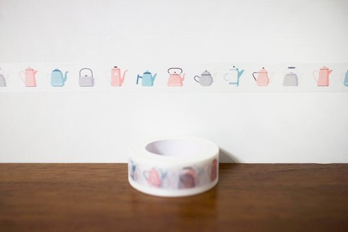 Maotu - paper tape (teapot party)