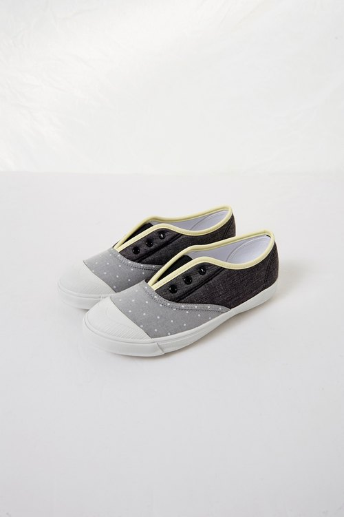 Warm dot gray _ parent-child shoes (adult models)