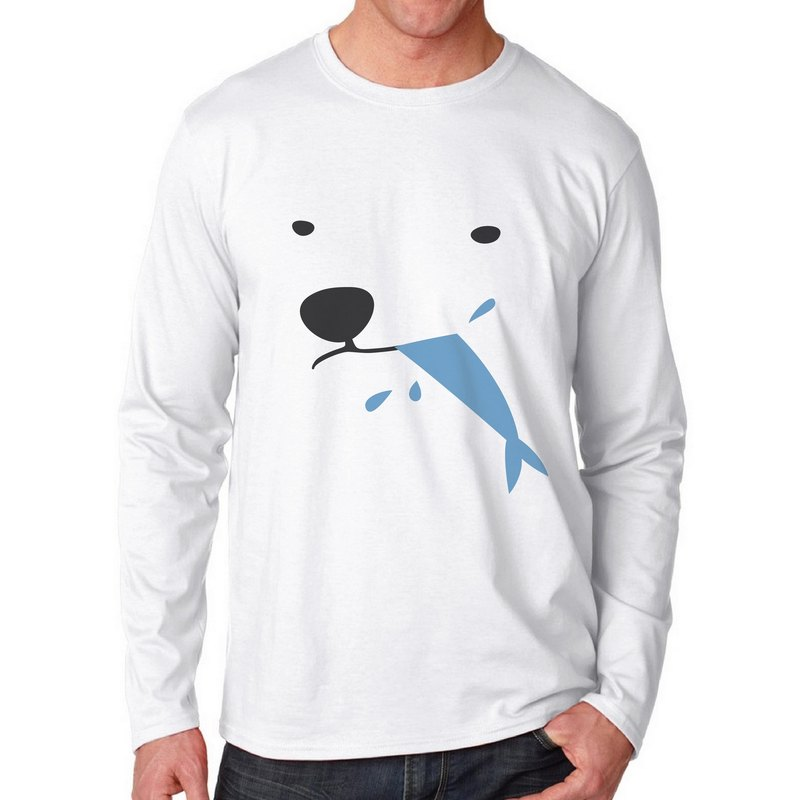 POLAR AND FISH, Changeable color long-sleeve t-shirt