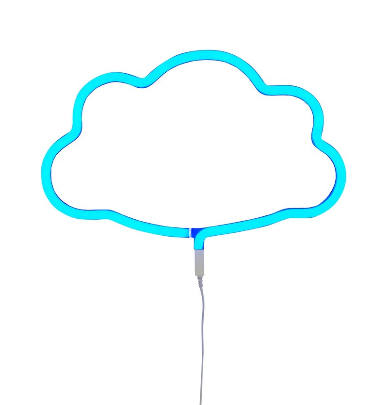 Netherlands a Little Lovely Company - healing pink blue cloud neon light decorative lamps