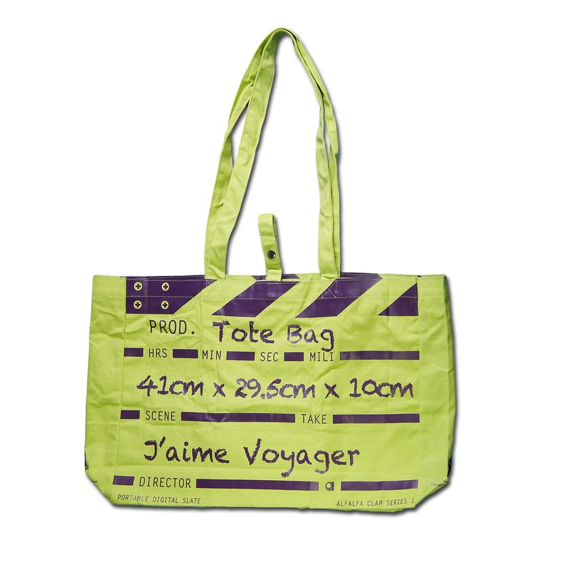 Director Clap Tote Bag - Green