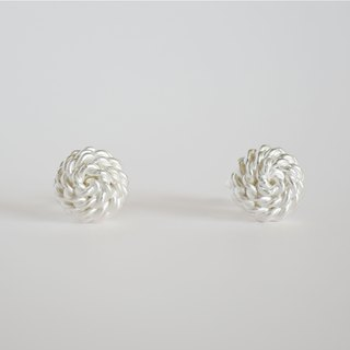 ki-ichi (L) earrings = silver 950 earrings =