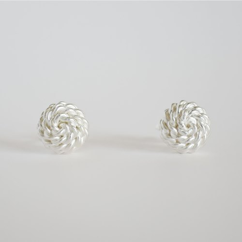 ki-ichi (L)ピアス = silver 950 earrings =