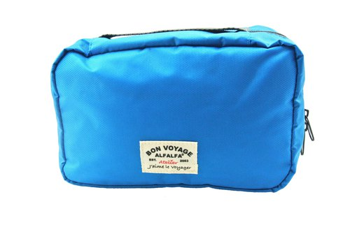 Jaime le Voyage Toiletry Bag(Blue)