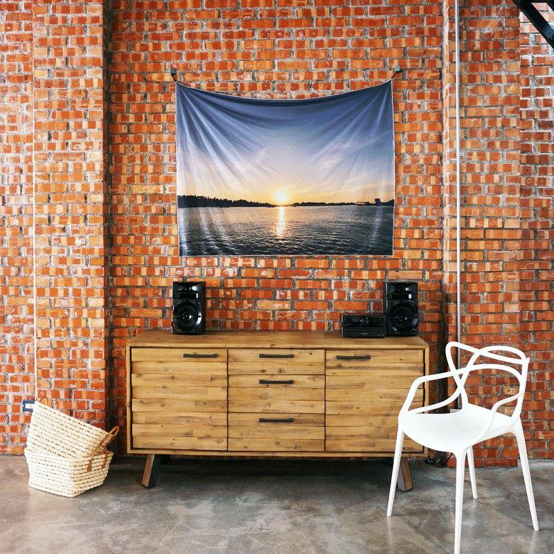 免費訂製你的專屬壁幔 家飾 布幔 BM04 日落 Wall Tapestry