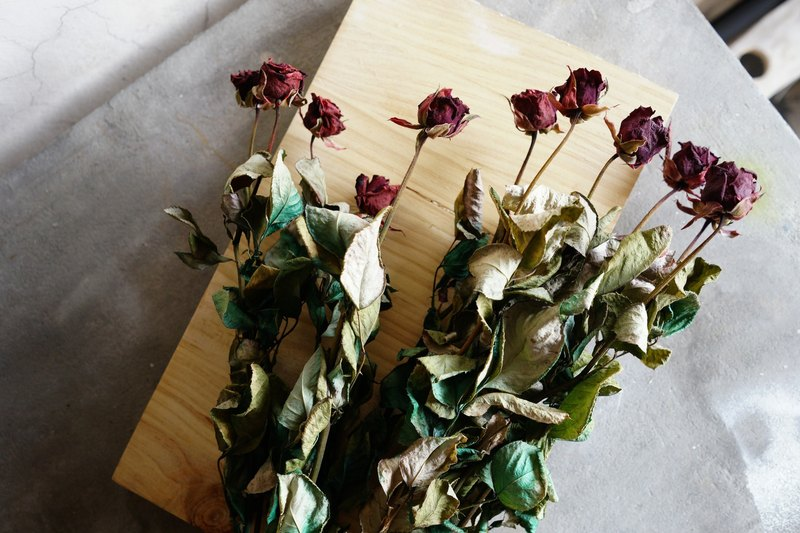 Dried flowers - rose bouquet