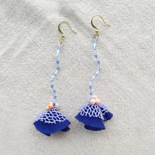 Earrings - skirt swing