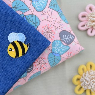Buzz bees self-adhesive embroidered cloth stickers - Forest Series