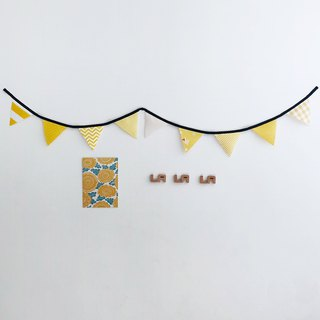 【La la la】 Colorful Life heart of the small sun pennant / limited manual / life style / layout of small objects