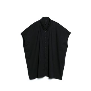 Oversize No-Sleeves Shirt