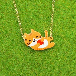 Meow Hair ball is my love! Meow~necklace