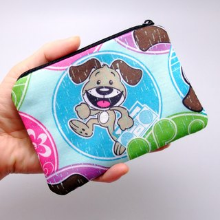 Zipper pouch / coin purse (padded) (ZS-209)