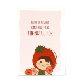 Thankful Card (Gerbera)  感恩卡 非洲菊