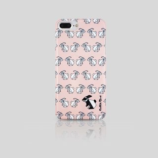 (Rabbit Mint) Mint Rabbit Phone Case - Pink Rabbit series Origami - iPhone 7 Plus (P00070)