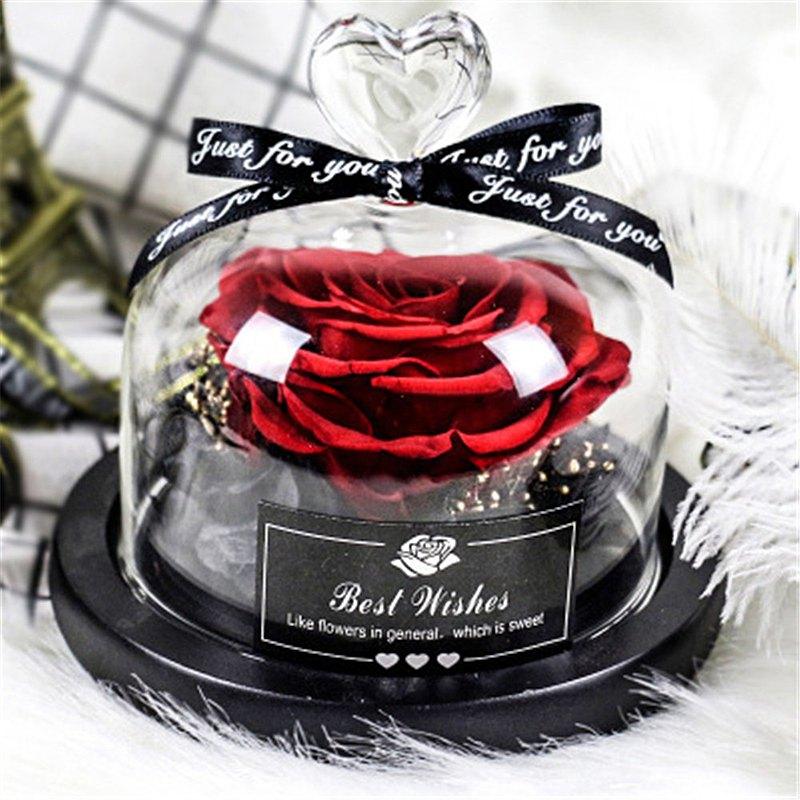 永生玫瑰花 禮物 聖誕節禮物 生日禮物 交換禮物 七夕情人節禮物