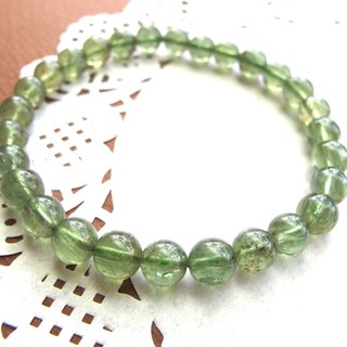 [翠] 7mm green phosphorus - hand-created natural stone series