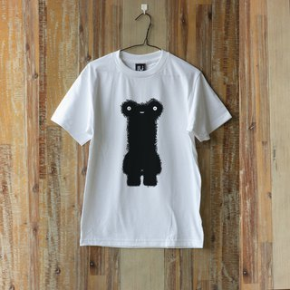 LU Hand screen print T-shirt   (BONES)   ( S M L )