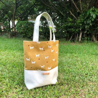 Autumn cat suede stitching bag handbag shoulder bag custom knocking