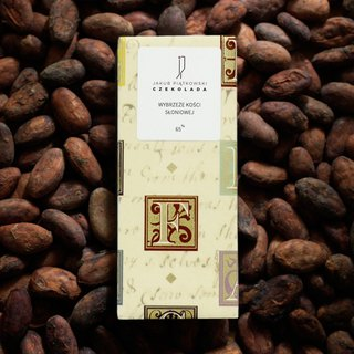 Bobo Bean To Bar Chocolate Ivory Coast Dark Chocolate 65% Single Piece Gift Set