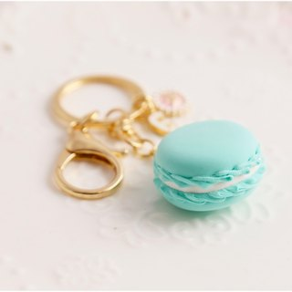 Macaron strap bridesmaid gift customized English name Tiffany blue